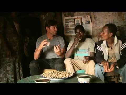 Hugh Jackman finds inspiration with Ethiopian coffee farmers. Launches charity brand, Laughing Man