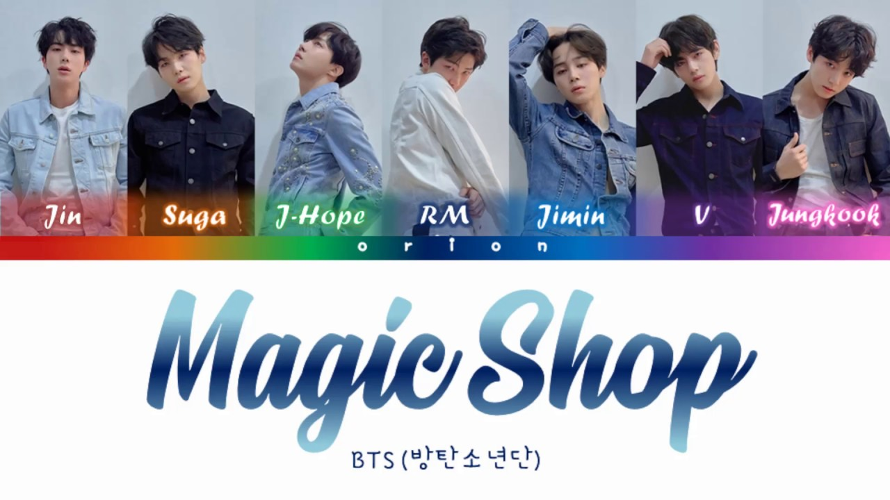Download BTS (방탄소년단) - Magic Shop (Color Coded Lyrics Han/Rom/Eng)
