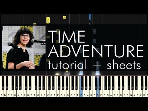 Adventure Time - Time Adventure (Finale Song) - Piano Tutorial +  Sheets