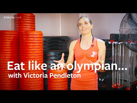 Eat like an olympian…with Victoria Pendleton