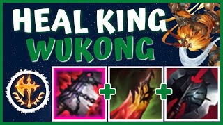 SO THE NEW GOREDRINKER ITEM MAKES YOU UNSTOPPABLE AT LOW HP?! - Season 11 Wukong | LoL