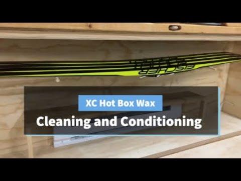 XC Ski Hot Box Wax For The Birkie And Vasaloppet (Base Prep)