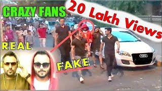 Fake Celebrity Prank | BADSHAH in McDonald's With Girlfriend