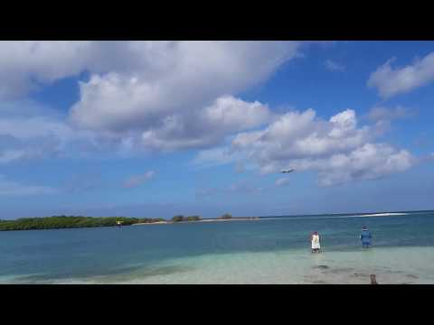 Aruba! Private jet landing!