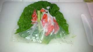 Classic Crab Meat Spring Roll Recipe