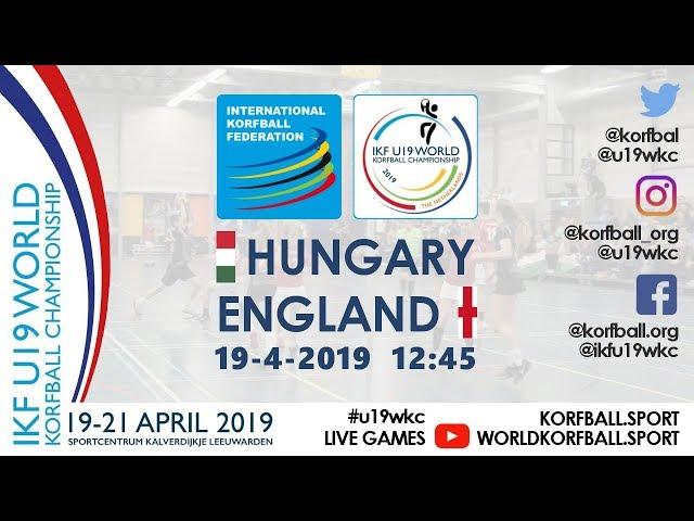 IKF U19 WKC 2019 HUN - ENG
