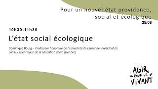 L'état social écologique