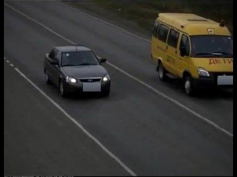 На Ставрополье водитель школьного автобуса опасно нарушил ПДД