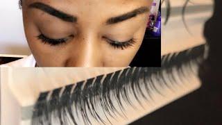 DIY Individual Eyelash Extension At Home/Mermaid style. Under method