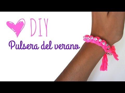 DIY Pulsera del verano