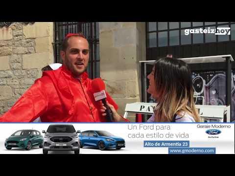 Bajada de Goitiberak 2019 en Vitoria-Gasteiz