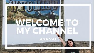 WHO AM I?/ EXCHANGE STUDENT/ WELCOME TO MY CHANNEL | Ana Val