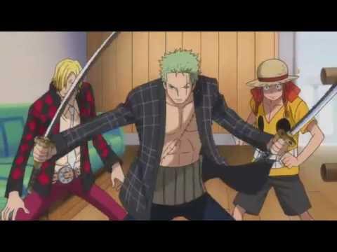 Luffy & Zoro & Sanji vs Z / One Piece Film Z