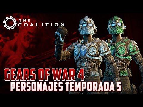 Gears of War 4 | Personajes Exclusivos de Temporada 5