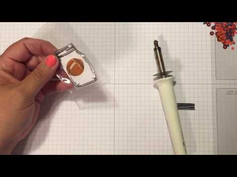 Mason Jar Shaker With Pocket Letter Sleeves And Fuse Tool