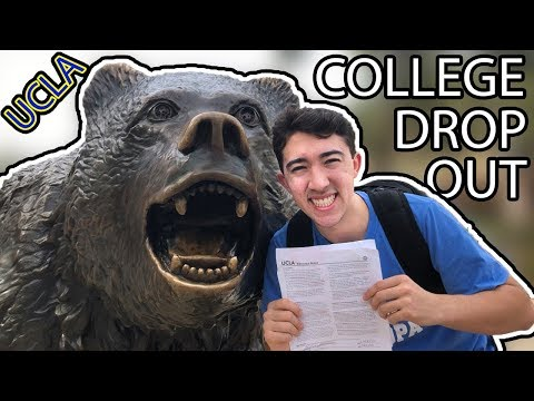I Dropped Out Of College Today.