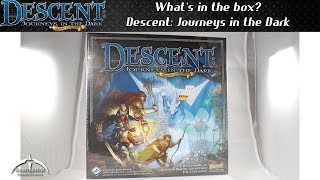 Descent Journeys in the Dark Second Edition Board Game Unboxing