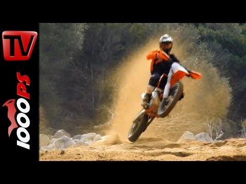 KTM EXC MY15 - Offroad Actionvideo