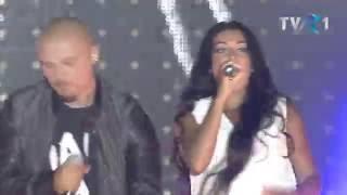 Vescan , Florin Ristei , Puya si Elena Ionescu pe scena Media Music Awards 2016.