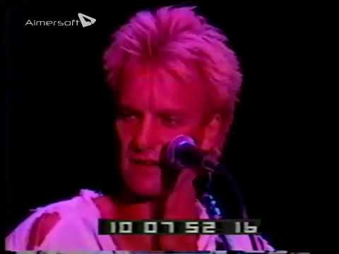 "The Police- Oakland, CA ""Coliseum"" September 10, 1983 (video)"