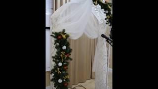 Кованая свадебная арка