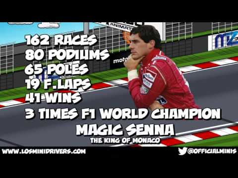 MiniDrivers - F1 - Tribute to Ayrton Senna