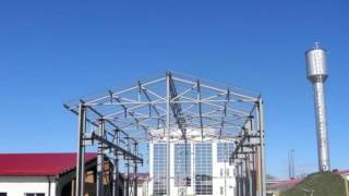 Строительство БМЗ (быстромонтируемого здания).(Технология строительства БМЗ основывается на использовании стального каркаса в качестве основы, к котором..., 2016-11-22T19:37:54.000Z)