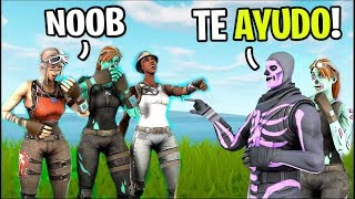 😱THEY ARE RIEN FOR SMALL CHILD FOR NOT HAVING SKIN and I DEFEND IT WITH EXCLUSIVE SKIN.. 😎 -itsKrufy /Fortnite