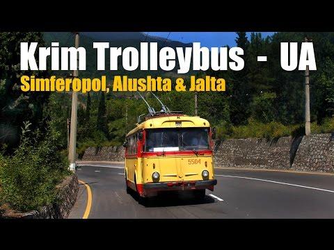 KRIM-TROLLEYBUS - Simferopol, Alushta & Jalta (2012)