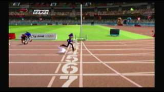 Mario and Sonic at the Olympic Games Athletics: 110 meter Hurdles