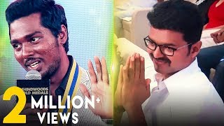 atlees emotional speech about vijay mersal theri