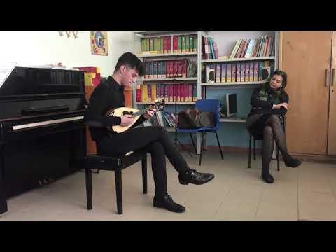 """Francesco Russo Esegue Il """"Preludio N.2 Per Mandolino Solo"""" Di Raffaele Calace"""