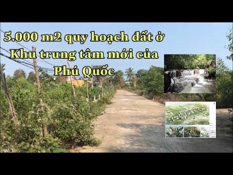 Bán đất phú quốc 5.000 m2 quy hoạch đất ở, gần khu trung tâm Phú Quốc giá 4 triệu/m