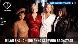 Milan Fashion Week Spring/Summer 2019 - Ermanno Scervino Backstage   FashionTV   FTV