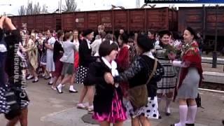 Поезд победы Красный Лиман