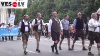"""Видеорепортаж: """"Гей-парад в Риге"""""""