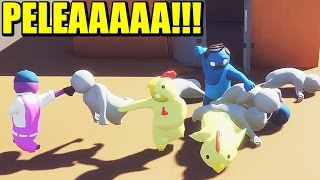 GANG BEASTS #1 - Las peleas más divertidas | Gameplay Español