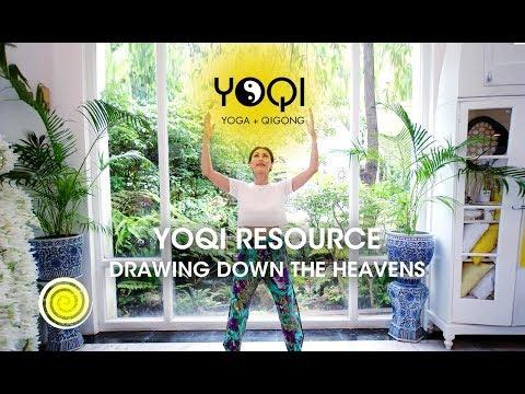 Qi gong: Drawing Down the Heavens Tutorial - YouTube