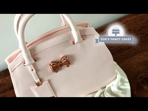 Handbag cake tutorial