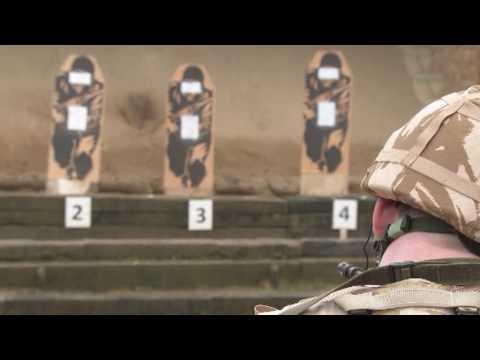 The Royal Navy: Royal Marines Commando, 40 Commando.