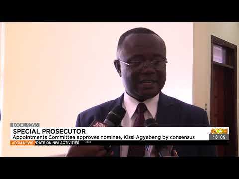 Appointments committee approves nominee, Kiss Agyebeng by consensus Adom TV News (22-7-21)