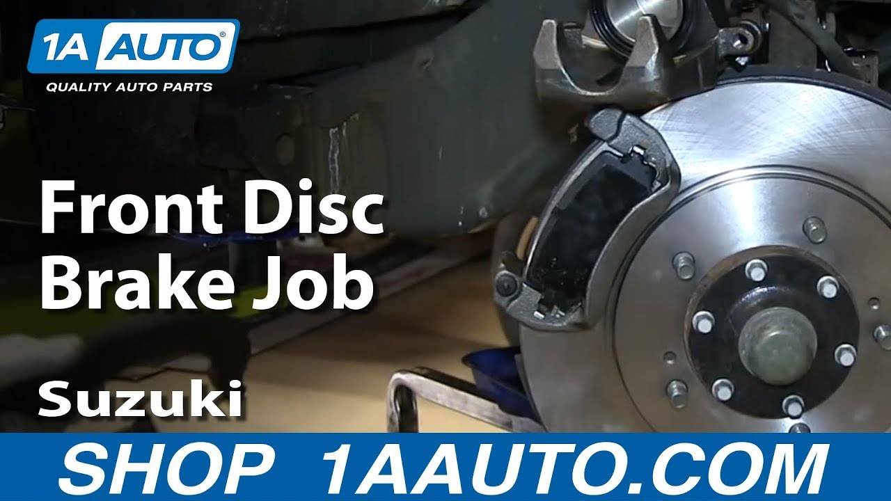 How To Change The Brakes On A Suzuki