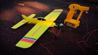 Самолёт с моторчиком за 20$/Electric Wire Control Airplane for 20$