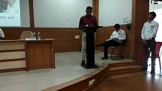 Presentation of shalashidi at RSK Bhoapl