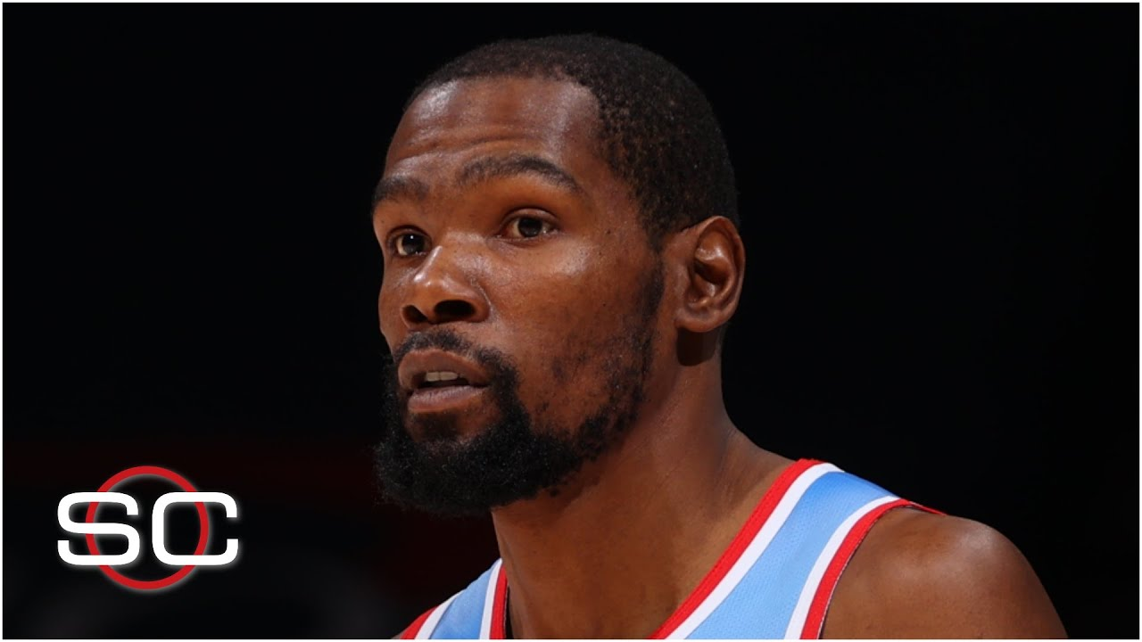 Kevin Durant will miss at least two games due to a hamstring injury   SportsCenter