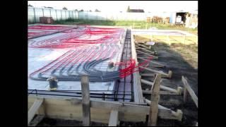 Утеплённая шведская плита  Строительство фундамента  Фотоотчет(Канал стройка Самостоятельная организация процесса стройки. Строительство частного дома. Строительства..., 2015-09-24T13:43:27.000Z)