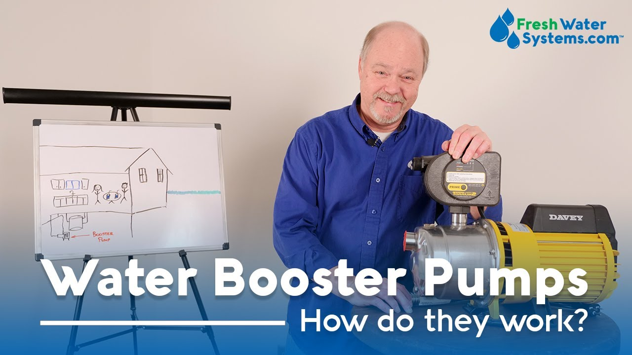 What is a Water Booster Pump and How Does It Work? – Fresh Water Systems