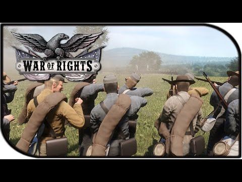 "War of Rights Gameplay - ""The Civil War"" (Kickstarter Trailer Footage)"