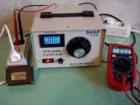 Автотрансформатор от 0 до 300 Вольт [electroforum.su]