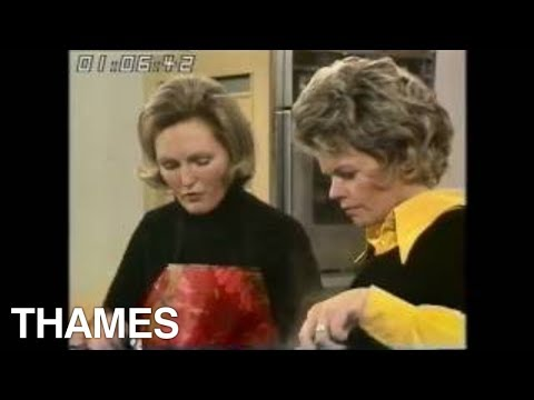 Mary Berry | How to make  omelette and Salad | 1973